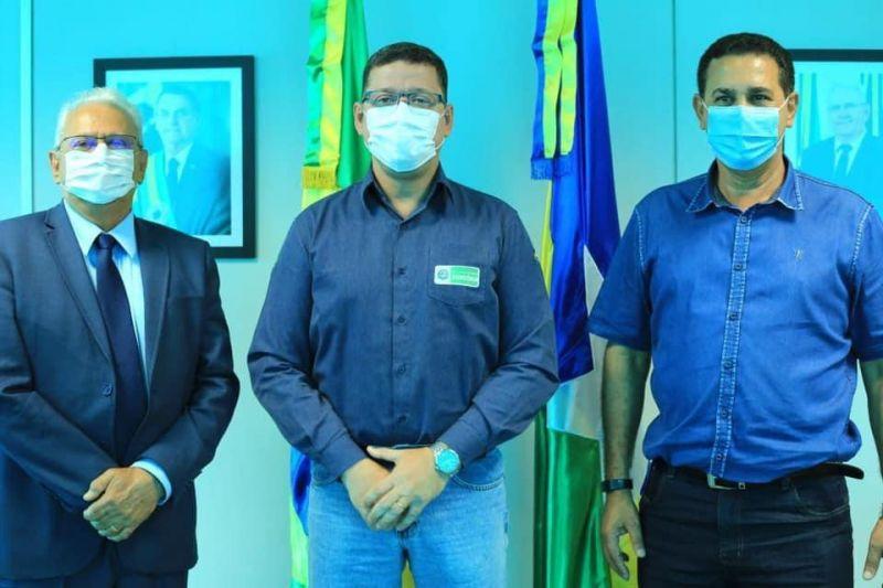 Prefeito de Rolim de Moura Aldo Júlio enaltece parceria com governo do estado