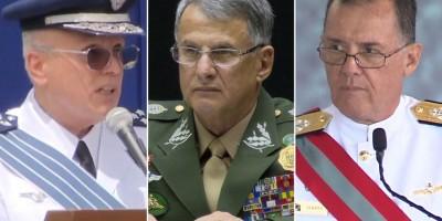 Comandantes do Exército, da Marinha e da Aeronáutica deixam cargos após troca de...