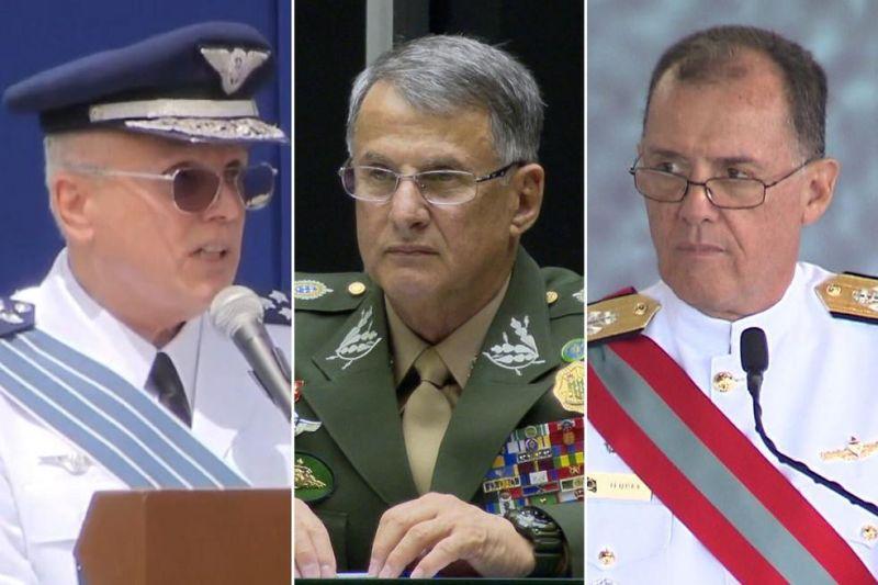Comandantes do Exército, da Marinha e da Aeronáutica deixam cargos após troca de ministro da Defesa