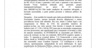 EDITAL DE INTIMAÇÃO - MARIA DE LURDES GOMES MACHADO
