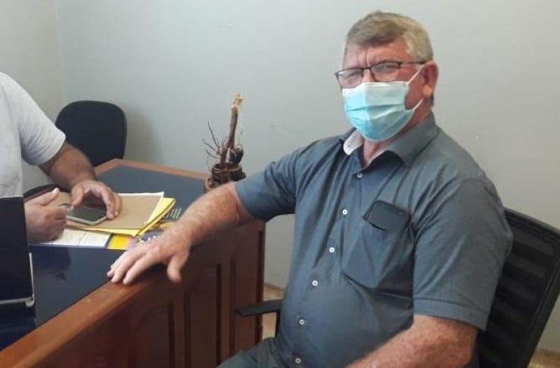 Vice-prefeito de Rolim de Moura, Alcides Rosa, testa positivo para covid-19 e está sob cuidados médicos em Cacoal