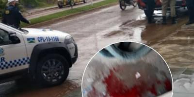 Jovem baleado em Vilhena, pode ter sido vítima de uma emboscada após marcar encontro...