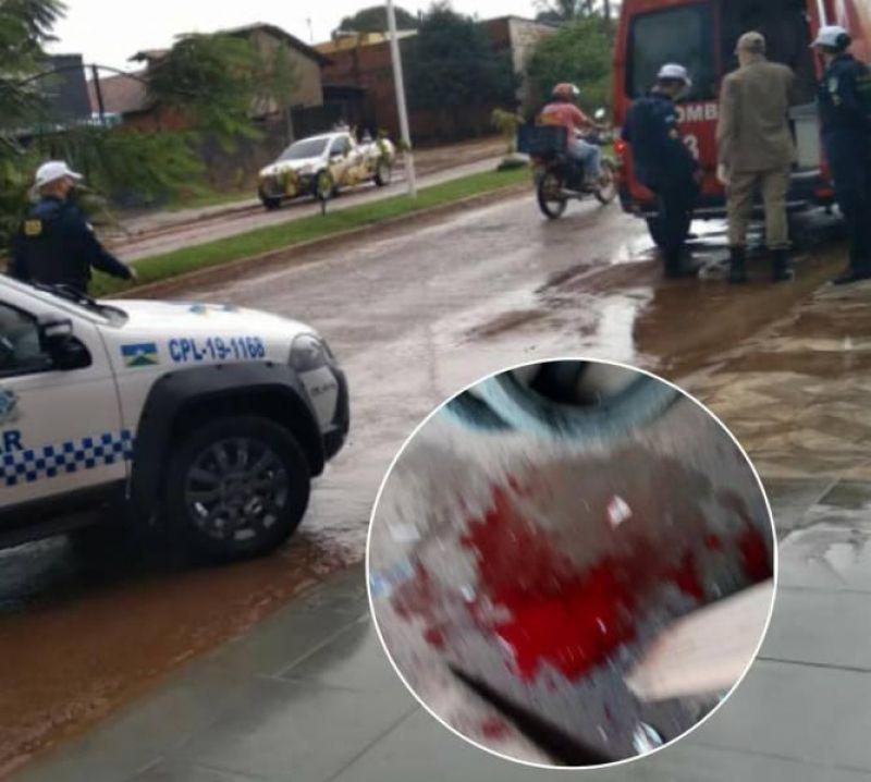 Jovem baleado em Vilhena, pode ter sido vítima de uma emboscada após marcar encontro pelo Facebook