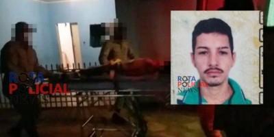 Homem é baleado várias vezes, não resiste e morre a caminho do hospital em Vilhena