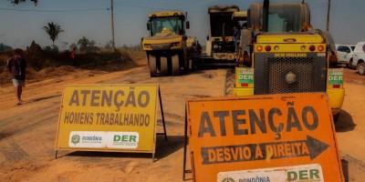 Serviços de manutenção e melhorias da malha rodoviária de Rondônia vai ganhar...