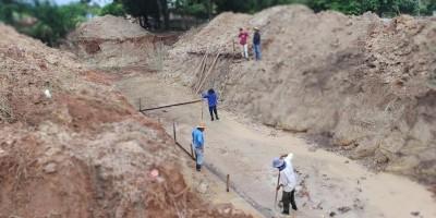 Prefeitura de Rolim de Moura inicia construção de galeria no Bairro São Cristóvão