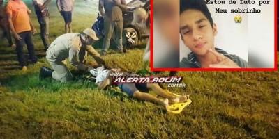 Jovem de 16 anos, vítima de grave acidente em Rolim de Moura, não resiste e vai a...