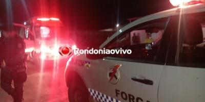 Homem é atacado a golpes de faca em frente a agência bancária em Porto Velho