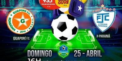 Rádio Rondônia irá transmitir jogos do Guaporé pelo Rondoniense 2021