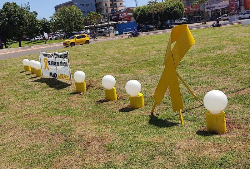 Rolim de Moura: Comtran participa da Campanha Maio Amarelo