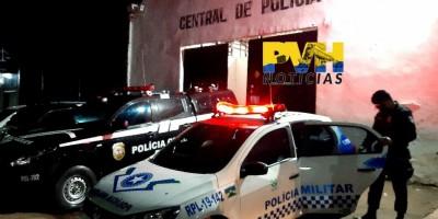 Bandido atira em adolescente durante roubo, erra e apanha sem dó da população em Porto...
