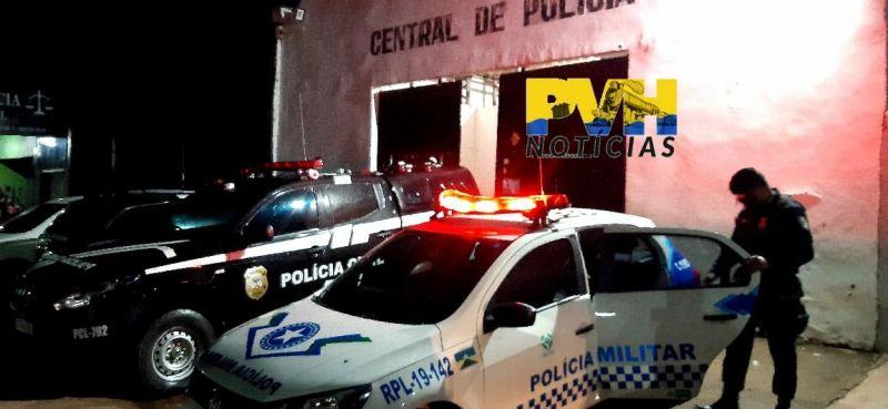 Bandido atira em adolescente durante roubo, erra e apanha sem dó da população em Porto Velho