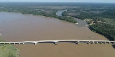 Após 7 anos de espera e com 1,5 km de extensão, ponte do Abunã é inaugurada em...