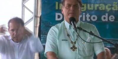 Em inauguração de ponte, Bolsonaro diz que decreto para impedir fechamento de vias já...