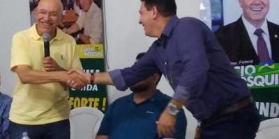 Prefeito Aldo Júlio agradece senador Confúcio Moura por emendas para saúde e...