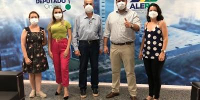 Obras de asfalto serão retomadas em Rolim de Moura e prefeito Aldo Júlio agradece...
