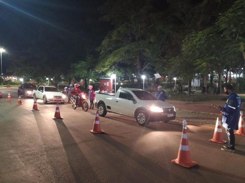 Detran volta a fazer blitz repressiva em Rolim de Moura