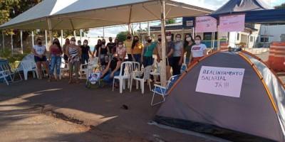 Rolim de Moura: Mulheres de militares encerram temporariamente protesto após proposta do...