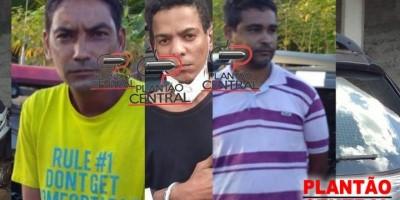 Polícia Civil prende três suspeitos de deceparam a cabeça de homem em Presidente...