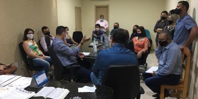 Assessoria do Senador Confúcio visita prefeitura e prefeito Aldo Júlio pede apoio para...