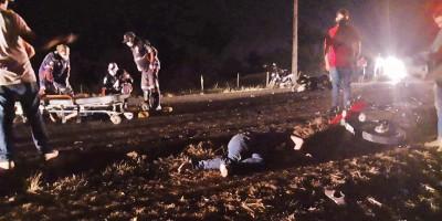 Quatro pessoas morrem em grave acidente na RO-133 próximo a Machadinho