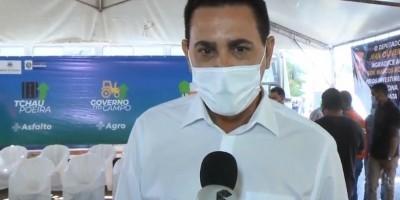 Prefeito Aldo Júlio agradece governo pelo Tchau Poeira e pede mais vacina para os...