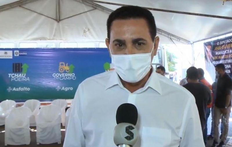 Prefeito Aldo Júlio agradece governo pelo Tchau Poeira e pede mais vacina para os rolimourenses