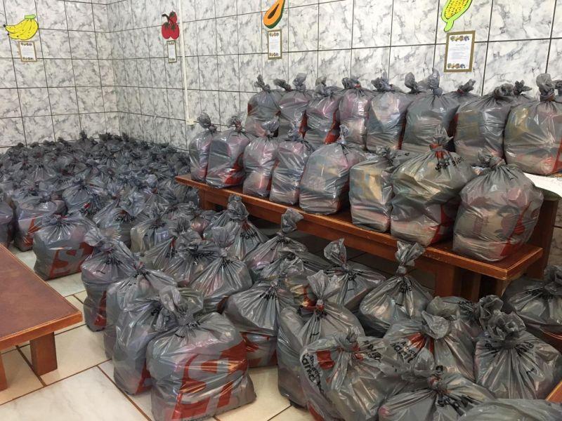 Secretaria de Educação de Rolim de Moura entregou mais de 5 mil cestas de alimentação escolar do PNAE