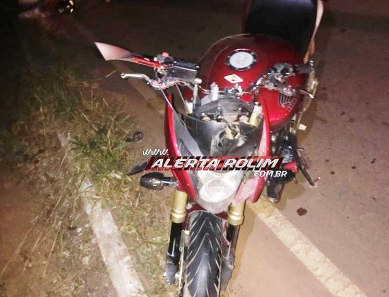 Motociclista é socorrido à UPA após colidir contra capivara na RO-010 em Rolim de Moura