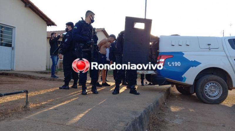 Veja o vídeo: Família é feita refém por criminosos dentro de casa em Porto Velho; Bandidos foram presos