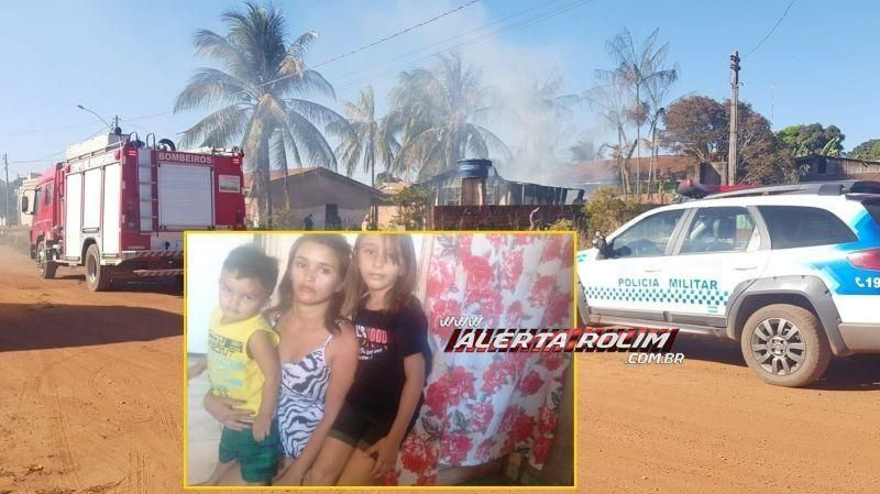 Rolim de Moura: Através de ajuda, mulher que teve casa destruída por incêndio consegue material para construir e mobiliar uma nova residência