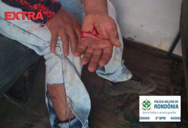 Cães da raça pitbull atacam pessoas e um deles é abatido pela PM em Vilhena