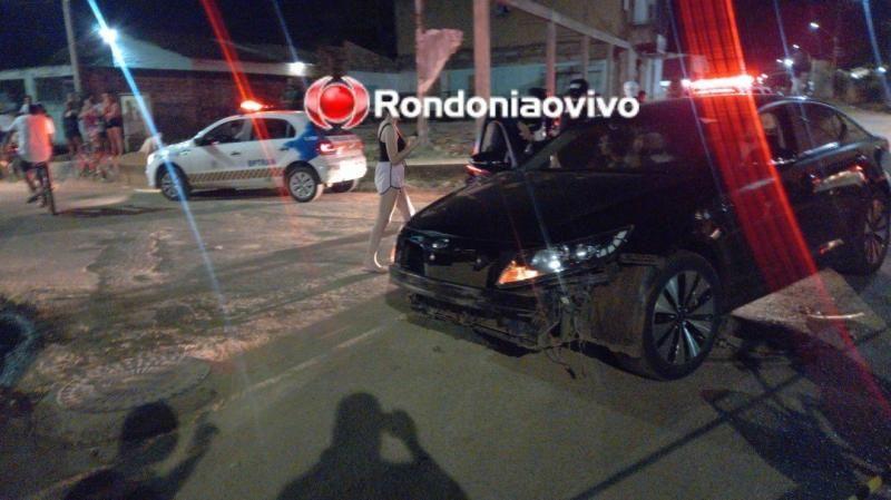 Após se envolver em acidente, motociclista foge do local e morre atropelado por carro em Porto Velho