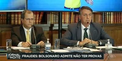 Fake news: Após três anos falando em 'fraudes eleitorais', Bolsonaro admite não ter...