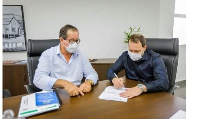 Vereador Valtão da Obra já conseguiu mais de R$ 3 milhões de recursos para Rolim de Mora e prefeito Aldo Júlio agradece