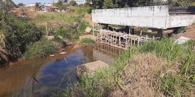 Prefeitura de Rolim de Moura reinicia construção da ponte da avenida Porto Velho