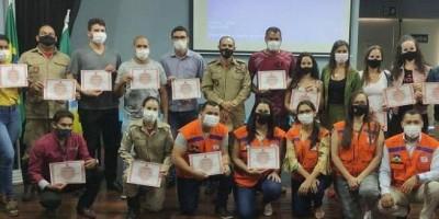 Rolim de Moura sediou treinamento de Estágio Básico da Defesa Civil