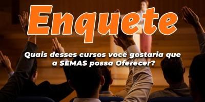 SEMAS de Rolim de Moura faz pesquisa em site para ouvir população na escolha de cursos...