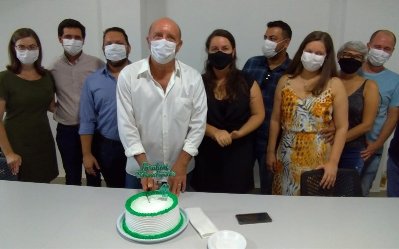 ACIC homenageia o Jornal Tribuna Popular por 41 anos dedicados ao município de Cacoal e ao estado de Rondônia