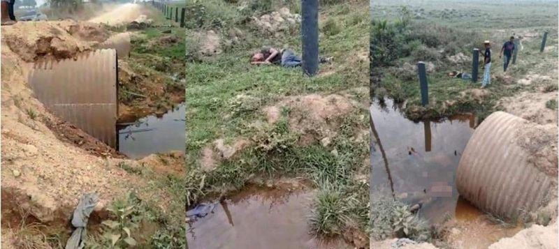Jovem de 17 anos morre após perder controle da direção e cair dentro de bueiro na zona rural de Nova Mamoré
