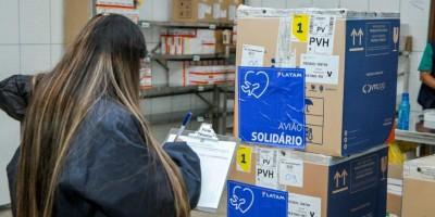 Rondônia recebe remessa com mais de 47 mil doses de vacinas da Pfizer contra covid-19