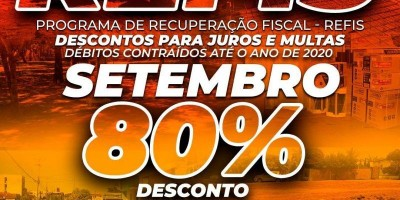 Rolim de Moura: Secretaria Municipal de Fazenda alerta que desconto de 80% de juros e...