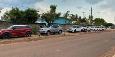 Veja fotos dos carros apreendidos durante operação da PF em Rolim de Moura e outros...