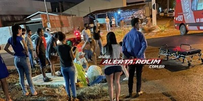 Rolim de Moura: Acidente entre motos deixa três pessoas feridas, uma delas em estado...