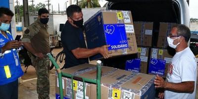 Rondônia recebe mais de 71,5 mil doses de vacinas contra covid-19