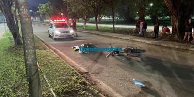 Motociclista morre atropelado em acidente em Porto Velho