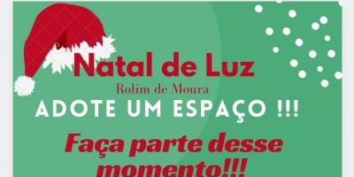 Rolim de Moura: Prefeitura pede apoio e doação de materiais decorativos para execução...