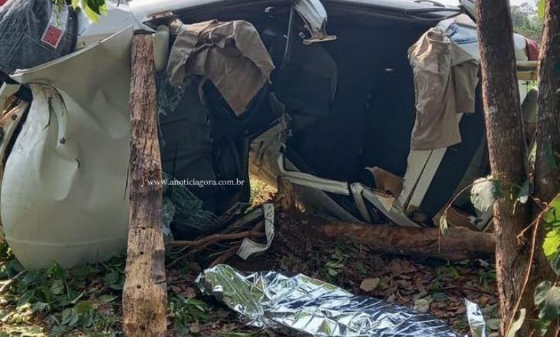 Jovem de 21 anos perde a vida em grave acidente na RO-133, em Machadinho