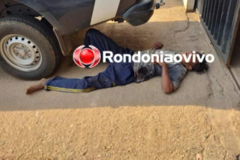 Homem é esfaqueado e vai pedir socorro na polícia em Porto Velho