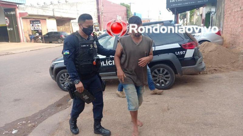 Homem é esfaqueado após invadir residência e agredir ex-mulher; Os dois foram presos